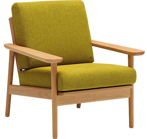 カリモク WD4330 1Pソファ 平織布張一人掛け椅子 肘掛クッション パーソナルチェア ファブリックフルカバーリング おすすめ おしゃれ 人気 karimoku オーク材 日本製家具 正規取扱店