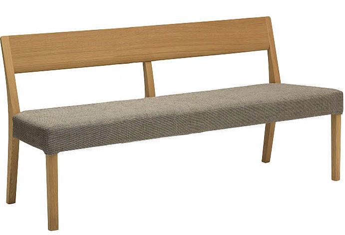 カリモクCU4703CE CU4713 150ベンチ 三人掛け食堂椅子 食卓椅子 ダイニングチェア カバーリング 背もたれ 合成皮革・布張り オーク・ナラ・楢 送料無料 日本製家具 正規取扱店 木製 単品 バラ売り