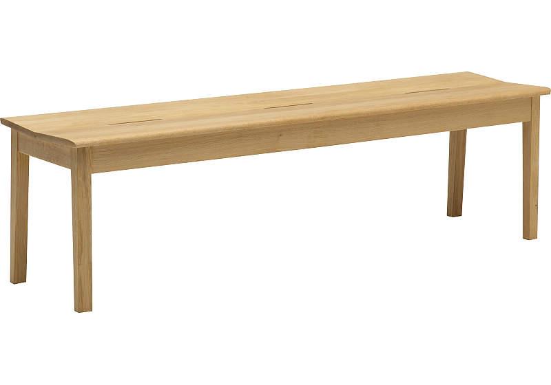 カリモク CU4836 150ベンチ 木製三人掛け食堂椅子 食卓椅子 ダイニングチェア オーク・ナラ・楢 送料無料 karimoku 日本製家具 正規取扱店 木製 単品 バラ売り