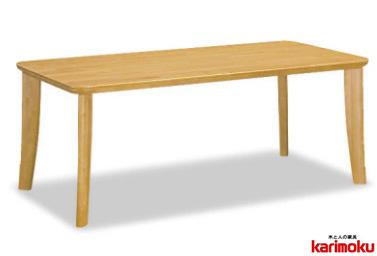 カリモク DT811 135cmダイニングテーブル 食卓テーブル 配膳台 食事机 天板形状選択 ラバートリー材 送料無料 karimoku 日本製家具 正規取扱店 テーブルのみ