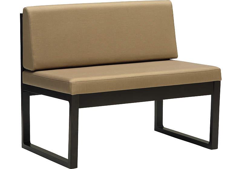 カリモク CA3902AW 87ベンチ 二人掛け食堂椅子 食卓椅子 ダイニングチェア 合成皮革 選べるカラー 送料無料 karimoku 日本製家具 正規取扱店 木製 単品 バラ売り