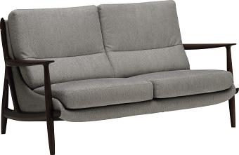 カリモク WW3512 2Pソファ 本革張ソファ 肘掛椅子 二人掛け ラブソファー レザー 送料無料 おすすめ おしゃれ 人気 背面きれい karimoku 日本製家具 正規取扱店
