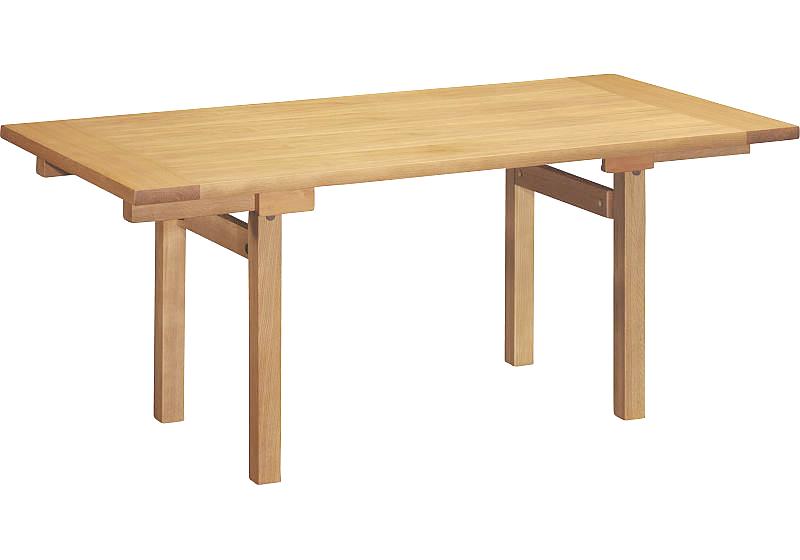 カリモクTS6086 175cmダイニングテーブル 食卓テーブル 配膳台 食事机 テーブルのみ ナラ オーク材 送料無料 日本製家具 正規取扱店