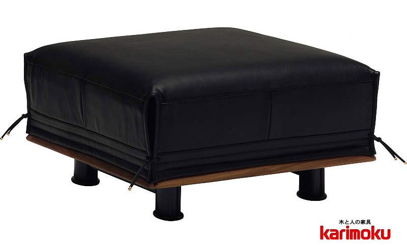 カリモク ZE9126 スツール 1Pソファ 本革張チェア ウォールナット 社長室や応接室に最適 ロータイプ おすすめ おしゃれ 人気 karimoku 日本製家具 正規取扱店