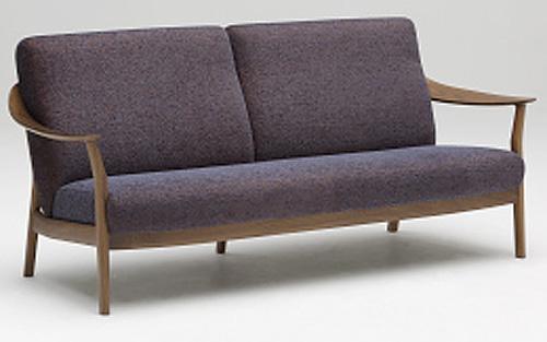 カリモク WW5703 WW5753モデル 3Pソファ 肘掛長椅子 布張り 三人掛け トリプルソファー ファブリック 本革張り おすすめ おしゃれ 人気 karimoku 日本製家具 正規取扱店