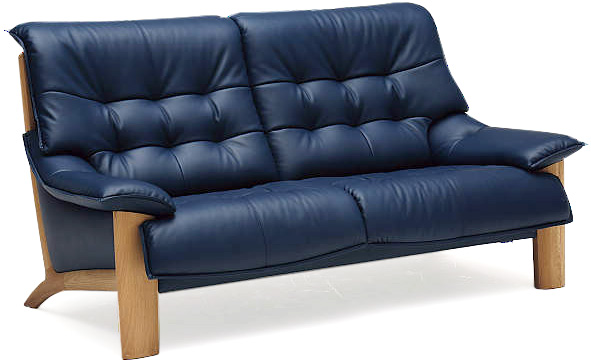 カリモク ZU4912 横幅1620 2Pソファ 本革張レザーソファ 肘掛ソファ ラブチェア 2人掛け椅子ロング おすすめ おしゃれ 人気 karimoku ZU49モデル 日本製家具 正規取扱店