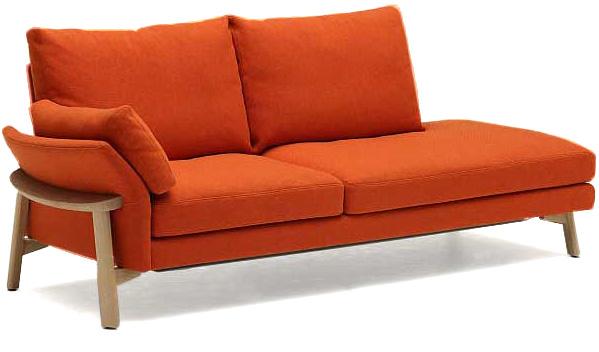 カリモク UW5228 UW5229 3P長椅子 W200サイズ 片肘掛椅子 布張り 三人掛け椅子ロング トリプルソファー カウチ風 ファブリック おすすめ おしゃれ 人気 karimoku 日本製家具 正規取扱店