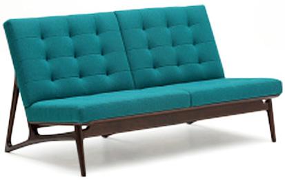 カリモク WB5002 2Pソファ 布張り 二人掛け椅子 ラブソファー ハイバック ファブリック ベンチ風 おすすめ おしゃれ 人気 karimoku 日本製家具 正規取扱店