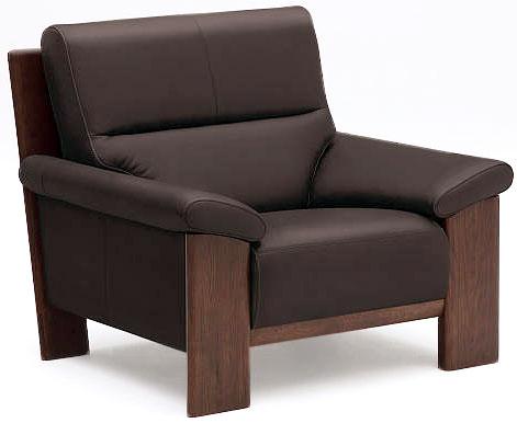 カリモク ZU4800 1Pソファ 本革張ソファ 肘掛ソファ パーソナルチェア 一人掛け椅子 ハイバック おすすめ おしゃれ 人気 karimoku 日本製家具 正規取扱店