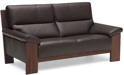 カリモク ZU4812 2Pソファ W165本革張ソファ 肘掛ソファ ラブチェア 2人掛け椅子ロング ハイバック おすすめ おしゃれ 人気 karimoku 日本製家具 正規取扱店