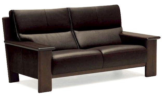 カリモク ZU48C2 2Pソファ W178本革張ソファ 平板タイプ 肘掛ソファ ラブチェア 2人掛け椅子ロング ハイバック おすすめ おしゃれ 人気 karimoku 日本製家具 正規取扱店