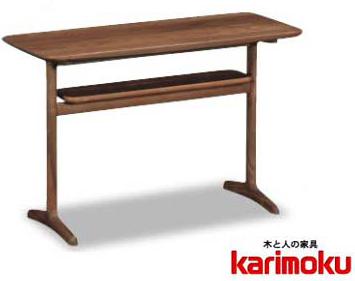 カリモク TW3100 リビング机 ソファーサイドテーブル 机 シンプル 送料無料 karimoku 日本製家具 正規取扱店 オーク材 木製ナラ