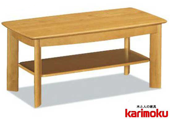 カリモクTT3500NN 長方形105サイズ センターテーブル ソファーテーブル 机 シンプル 送料無料 日本製家具 正規取扱店 木製