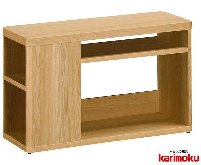 カリモクTT1072 長方形90サイズ サイドテーブル ソファーテーブル 机 シンプル ダーク ブラウン ナチュラル グレー ホワイト白 ブラック黒 送料無料 日本製家具 正規取扱店 木製