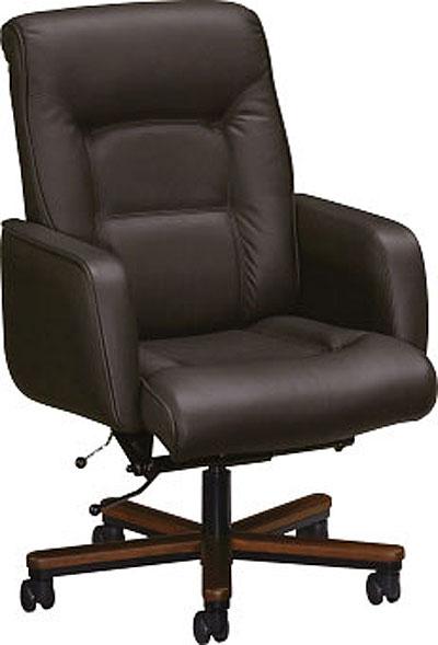 カリモク XS1200WB ダークブラウン PCチェア デスクチェアー 牛本革張レザーチェア キャスター付き パソコン椅子 ロッキング式 アイアン コンパクト 高級事務椅子オフィスチェア 正規取扱店 OAチェア 社長・役員椅子 ハイバック 送料無料 karimoku 日本製家具