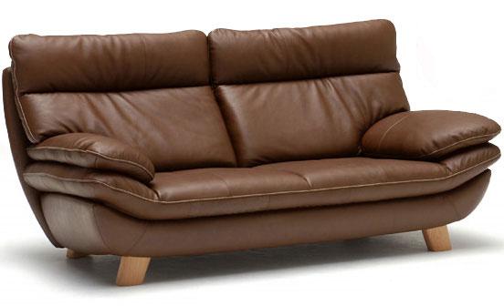 カリモク ZT8303 三人掛け椅子 3P本革ソファ 肘掛椅子 ハイバック ブラウン トリプルソファ おすすめ おしゃれ 人気 karimoku 日本製家具 正規取扱店