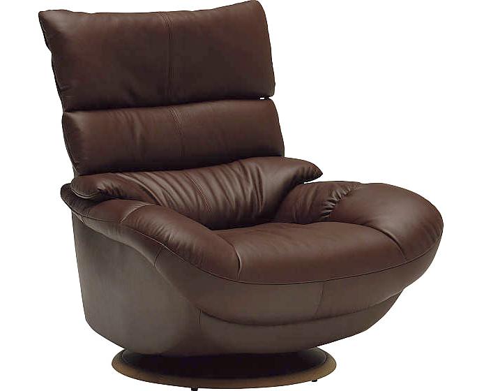 カリモク ZT6807 一人掛け回転式 肘掛椅子 1Pソファ 本革チェア ハイバック パーソナルソファー スマート おすすめ おしゃれ 人気 karimoku 日本製家具 正規取扱店