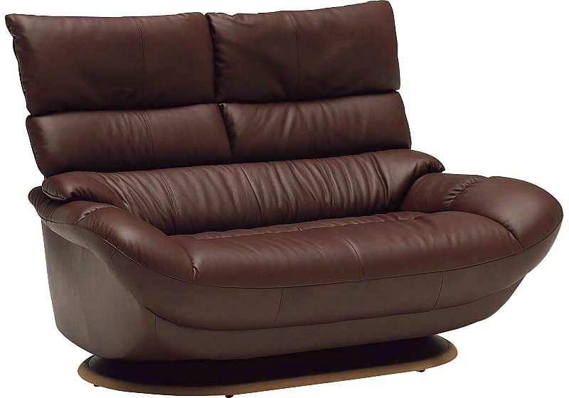カリモク ZT6802 二人掛け椅子 2Pソファ 本革チェア ハイバック ラブソファー スマート おすすめ おしゃれ 人気 karimoku 日本製家具 正規取扱店