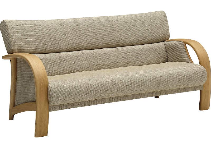 カリモク WT3333 3Pソファ 布張ソファ ファブリック肘掛ソファ トリプルチェア 三人肘掛け椅子 コンパクト おすすめ おしゃれ 人気 karimoku 日本製家具 正規取扱店