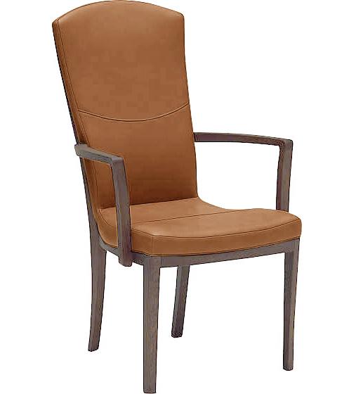 カリモク CT7820 ダイニングチェア 肘付食卓椅子 肘掛椅子 本革張りイス 選べるカラー ハイバック 送料無料 karimoku 日本製家具 木製 ブナ 単品・バラ売り【eis仕様】
