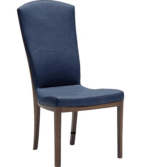 カリモク家具CT7825 ダイニングチェア 食卓椅子 本革張りイス ハイバック 送料無料 日本製家具 木製 単品・バラ売り【eis仕様】