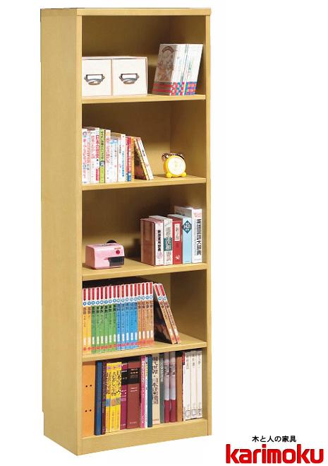 カリモクHU2415 書棚 本棚 カラーボックス ナチュラル ブックシェルフスタンド 送料無料 日本製家具 正規取扱店 完成品