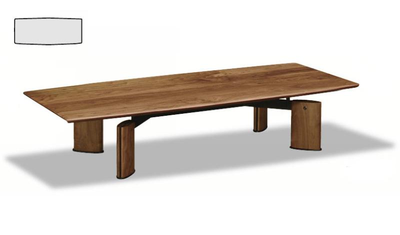 カリモク TE5410XR ウォールナット ダーク 150サイズ ビベンテシリーズ モダン座卓 センターテーブル 机 送料無料 karimoku 日本製家具 正規取扱店 木製