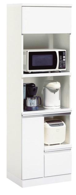 カリモク EA2065HH 家電収納棚 レンジボード ダイニングボード レンジ台 ホワイト 設置送料無料 karimoku 日本製家具 正規取扱店