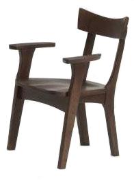 ナチュラル天然木使用カスガ肘付きダイニングチェア 春日 食卓椅子 木製無垢 送料無料 タモ材 ばら売り