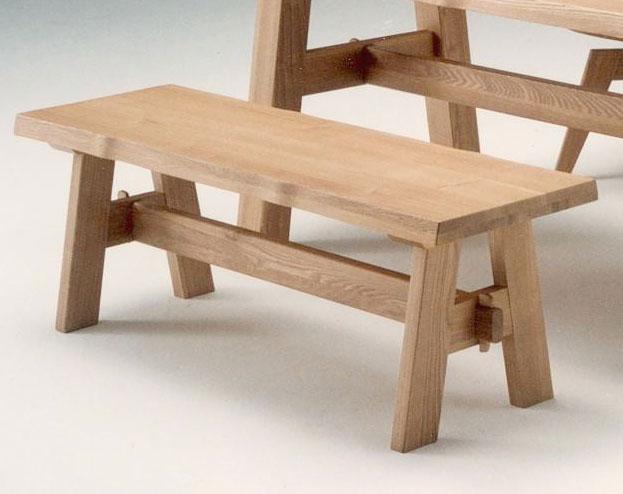 117ベンチ 吉野ナチュラル天然木使用 よしのダイニング 食卓 木製無垢 送料無料 タモ材