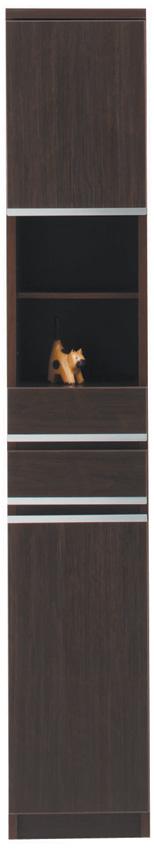 【30cm幅】オープン ピッタリ置ける スペース棚 本棚 すき間 ダーク 隙間 スキマ 引き出し付き スペースボード30A 日本製 送料無料