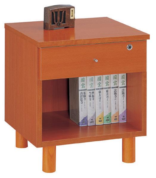 三ツ葉楽器 40Aナイトテーブル サイドテーブル ベッドテーブル カギ付き 送料無料 日本製