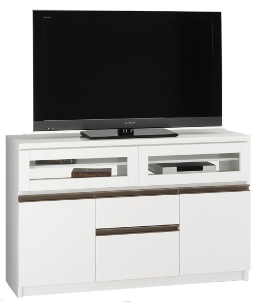 アーレスTVボード120 ホワイト ホワイト シンプル ハイタイプ テレビ台 テレビ台 ベーシック 三つ葉楽器 日本製 日本製 送料無料, ワールドインフォメーション:51d7898b --- luzernecountybrewers.com