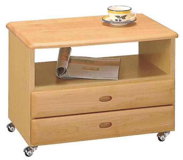 ピコ サイドテーブル シンプル キャスター付き ベーシック ワゴン 三つ葉楽器 日本製 送料無料