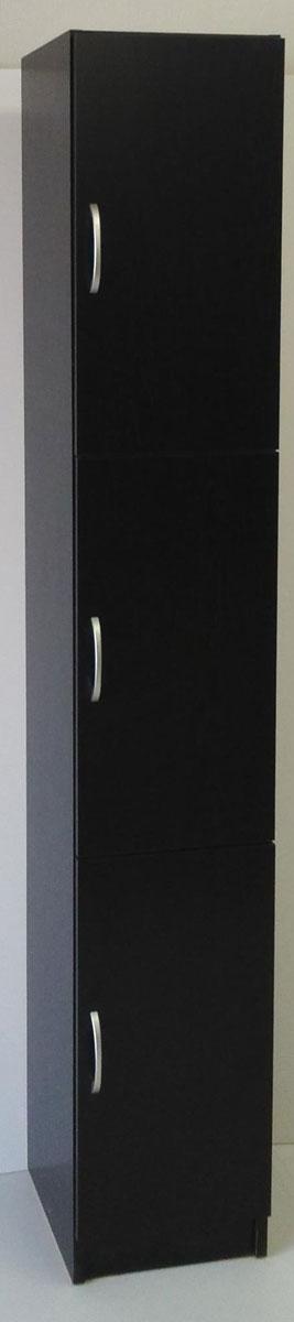 ポルタ ストッカー 食器棚 食品庫 すきま収納 小型コンパクト収納 三つ葉楽器 ブラック 書棚 キッチンキャビネット シューズボックス