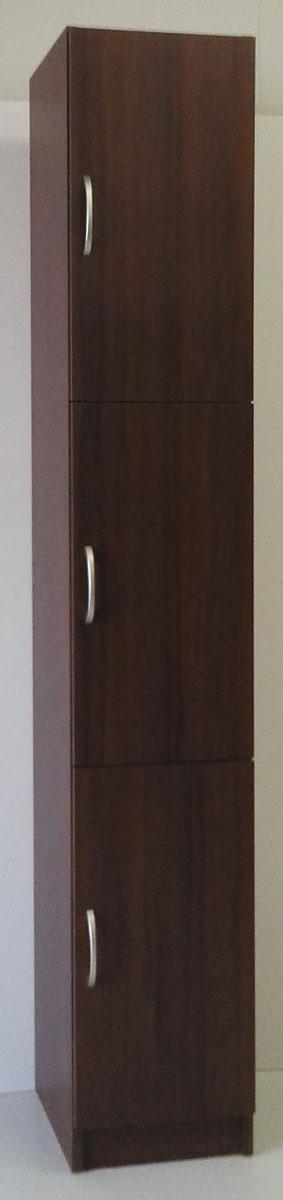 ポルタ ストッカー 食器棚 食品庫 すきま収納 小型コンパクト収納 三つ葉楽器 ブラウン 書棚 キッチンキャビネット シューズボックス