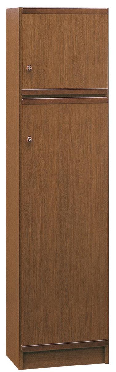 クリーンボックスBOX45 掃除機入れ 廊下収納 モップ収納 掃除道具入れ 三つ葉楽器 ブラウン 小物収納 送料無料 日本製