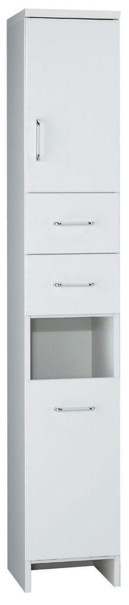 ランドリーボード ラスティ582 幅300 ホワイト 洗面所収納 コンパクト収納 三つ葉楽器 白 脱衣所収納