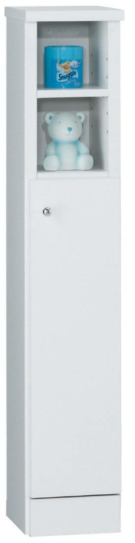 サニタリー2C(オープン)ボックス 583B トイレットペーパー入れ ペーパーボード 小型コンパクト収納 三つ葉楽器 ホワイト トイレ収納
