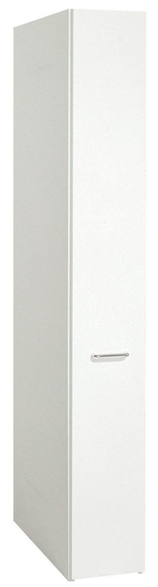 スライドストッカー25cm幅 食器棚 食品庫 すきま収納 小型コンパクト収納 三つ葉楽器 ホワイト キッチンキャビネット スリム収納