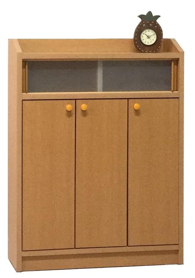 サニタリー3 60トビラ すきま収納 小型コンパクト収納 収納 ホワイト メープル 三つ葉楽器 送料無料