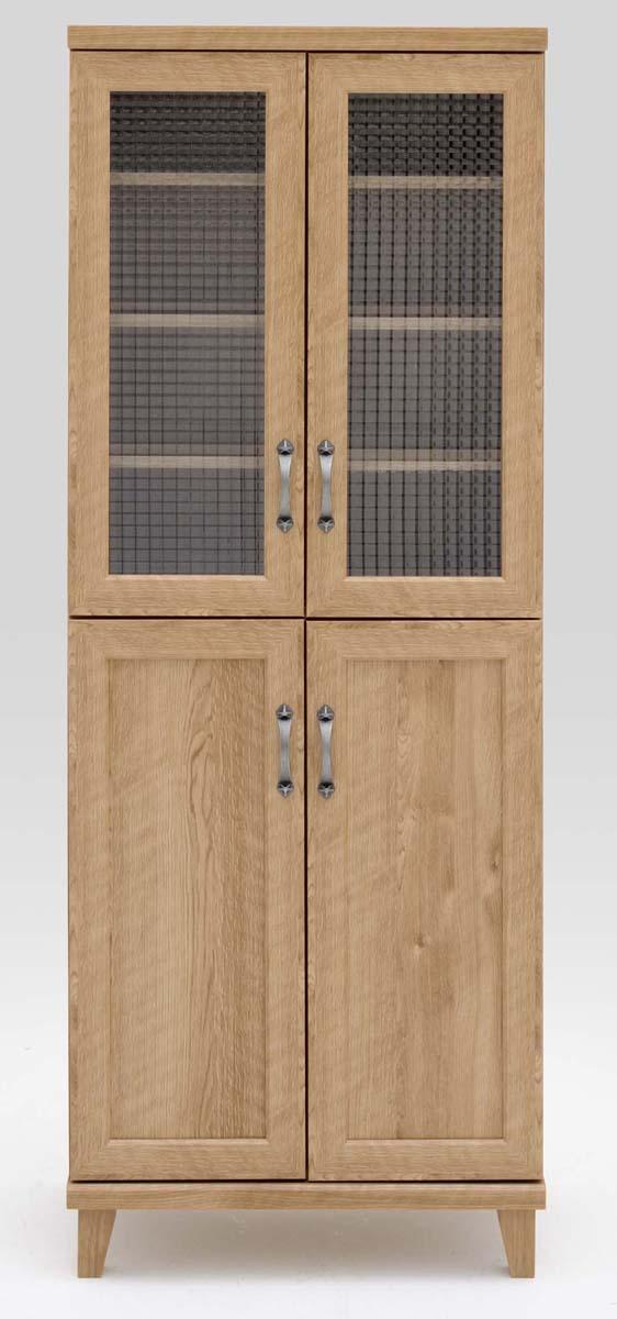 ジャーニー 60マルチボード 食器棚 カップボード 収納カップボード コンパクト カントリーナチュラルブラウン 共和KYOWA 日本製家具 送料無料