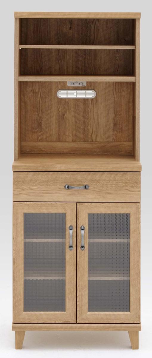 ジャーニー 60マルチボード 食器棚 カップボード オープン収納カップボード コンパクト カントリーナチュラルブラウン 共和KYOWA 日本製家具 送料無料