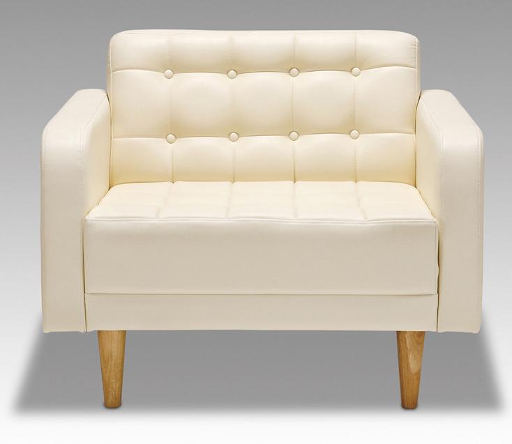 シャロ 27色対応ソフトレザー 1Pチェアー パーソナルソファ 一人掛け椅子 送料無料 日本製 マルセ椅子