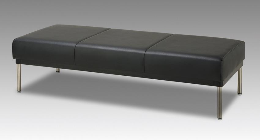 ヤスラギ 180サイズ 待合室ベンチチェアー 業務用風 オープン 20色対応合成皮革レザー レトロ 送料無料 日本製 マルセ椅子