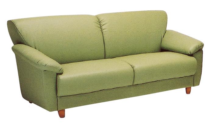 クレア 20色対応ソフトレザー 3Pチェアー トリプルソファ 三人掛け椅子 送料無料 日本製 マルセ椅子