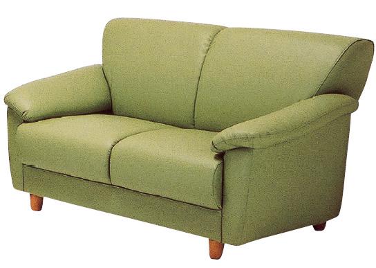 クレア 20色対応ソフトレザー 2Pチェアー ラブソファ 二人掛け椅子 送料無料 日本製 マルセ椅子