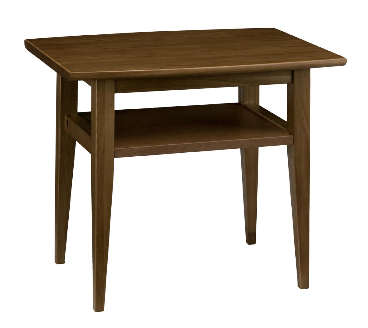 アケボノ アスコット645WE テーブル 机 シンプル コンパクト ブラウン センターテーブル 送料無料