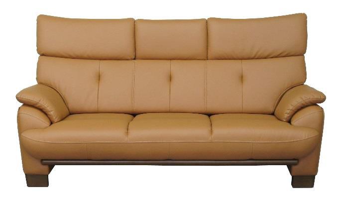 ティアラ 3Pソファ 合成皮革 三人掛長椅子 トリプルチェア 肘掛 シック クールアーバン 3人掛け ハイバック レザー 送料無料