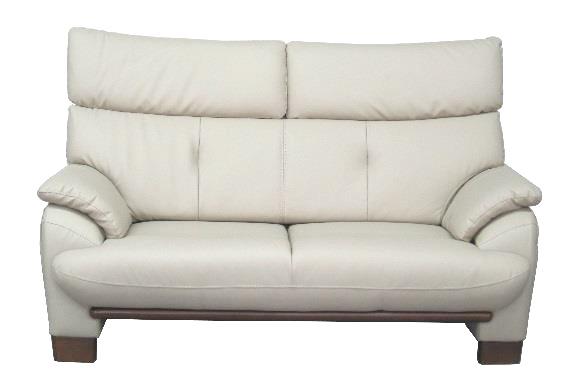 ティアラ 2Pソファ 合成皮革 二人掛長椅子 ラブチェア 肘掛 シック クールアーバン 2人掛け ハイバック レザー 送料無料